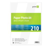 PRINT IT Paper Photo A4 210 g/m2 Glossy 20ks - PI-85