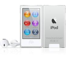 Apple iPod Nano - 16GB, bílá/stříbrná, 7th gen. - MKN22HC/A