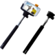 C-TECH Teleskopický selfie držák MP107B, Bluetooth, černá
