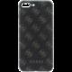 Guess 4G 2017 Soft Pouzdro Black/Gun Metal pro iPhone 7 Plus