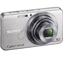 Sony Cybershot DSC-W630S, stříbrná