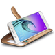 CELLY Wally pouzdro pro Samsung Galaxy A7 (2016), PU kůže, černá