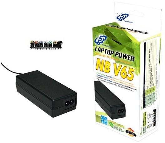Fortron napájecí adaptér k notebooku FSP NB V65, 65W, 19V