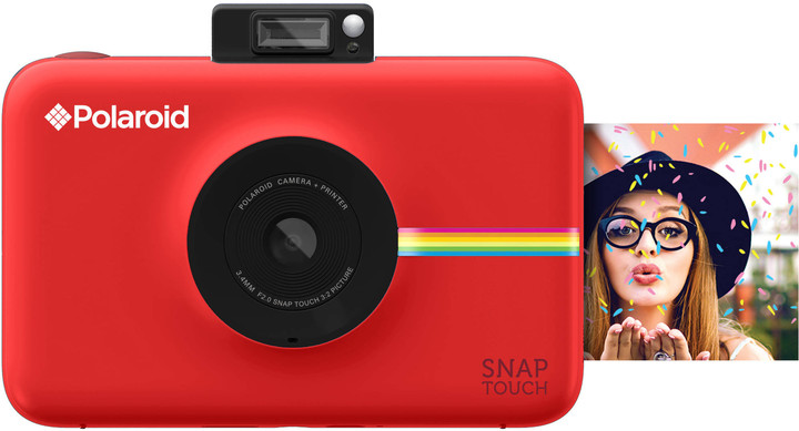 Polaroid SNAP TOUCH Instant Digital, červená