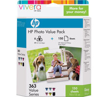 HP Q7966EE, no.363 + 150 ks 10x15, Multipack