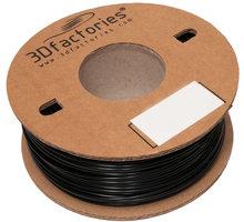 3D Factories tisková struna PLA černá 1,75 mm 1 Kg - 3D0036