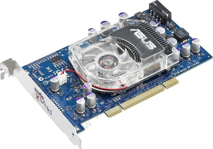 Asus PhysX P1, PCI