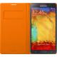 Samsung EF-WN900BO flip pouzdro pro Galaxy Note 3, oranžová