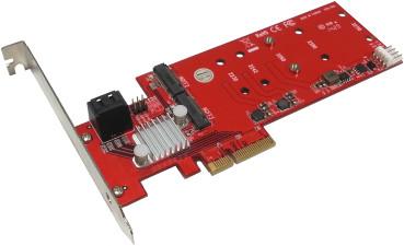 Addonics duální Hyper HDD - M2 hybridní