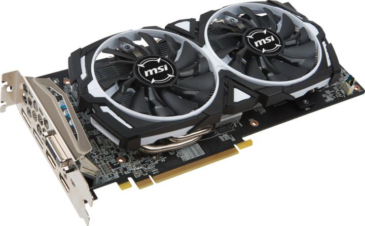 MSI Radeon RX 580 ARMOR 8G OC, 8GB GDDR5