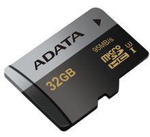 ADATA Micro SDHC Premier Pro 32GB UHS-I U3 - AUSDH32GUI3CL10-R