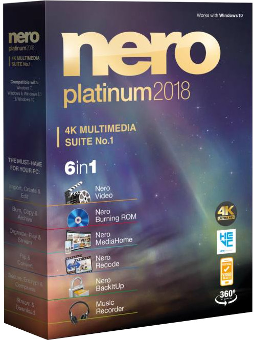 Nero 2018 Platinum CZ