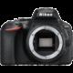 Nikon D5600 + 18-55 VR AF-P, černá  + Spací pytel Alpine Pro Saltan v ceně 999 Kč + Cashback 1 350 Kč od Nikonu