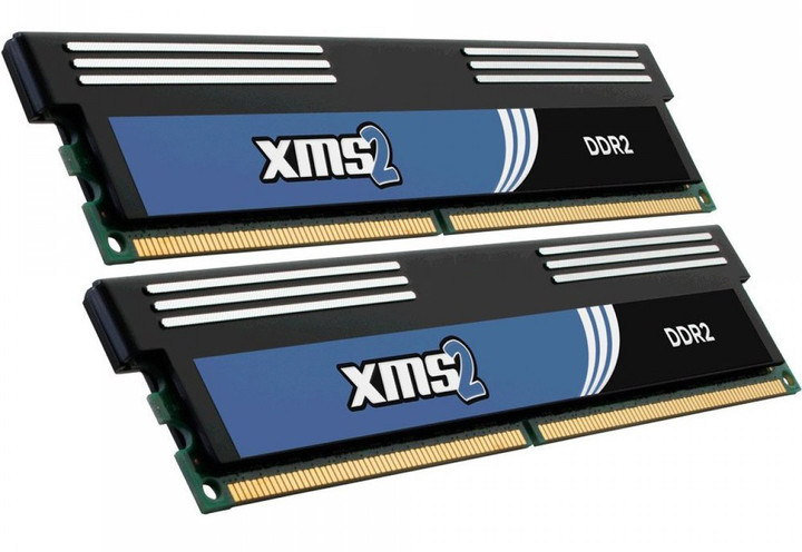 Corsair XMS2 4GB (2x2GB) DDR2 800