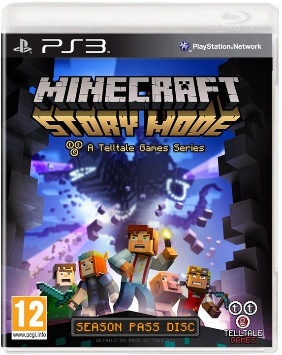 Minecraft: Story Mode - PS3