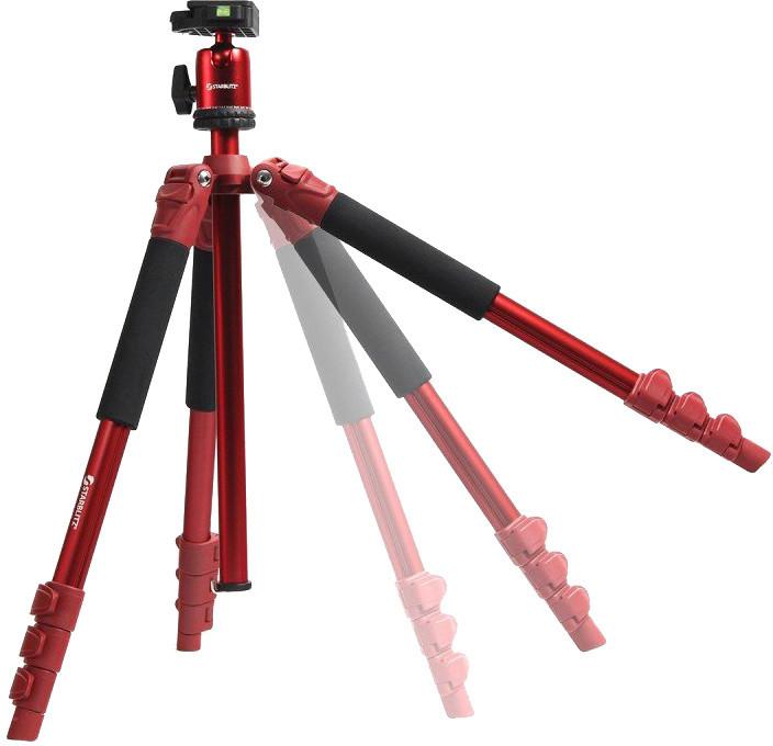 Starblitz stativ tripod TSK-234R, červená