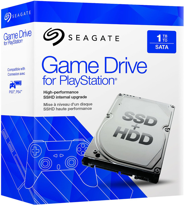 Seagate Game Drive for PlayStation SSHD - 1TB