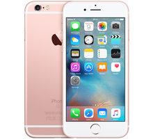 Apple iPhone 6s 128GB, růžová/zlatá - MKQW2CN/A + Zdarma GSM reproduktor Accent Funky Sound, červená (v ceně 299,-) + Zdarma GSM pouzdro CELLY Frost pro Apple iPhone 6/6S, 0,29 mm, černá (v ceně 249,-)