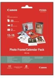 Canon Foto papír Photo Frame & Calendar PFC-101, 13x18 cm, 20 ks