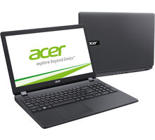 Acer Aspire ES15 (ES1-571-34HR), černá - NX.GCEEC.018 + 15,6'' NOTEBOOK STARTER KIT BELLY BAND
