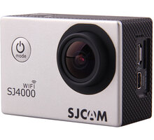 SJCAM SJ4000 WiFi, stříbrná