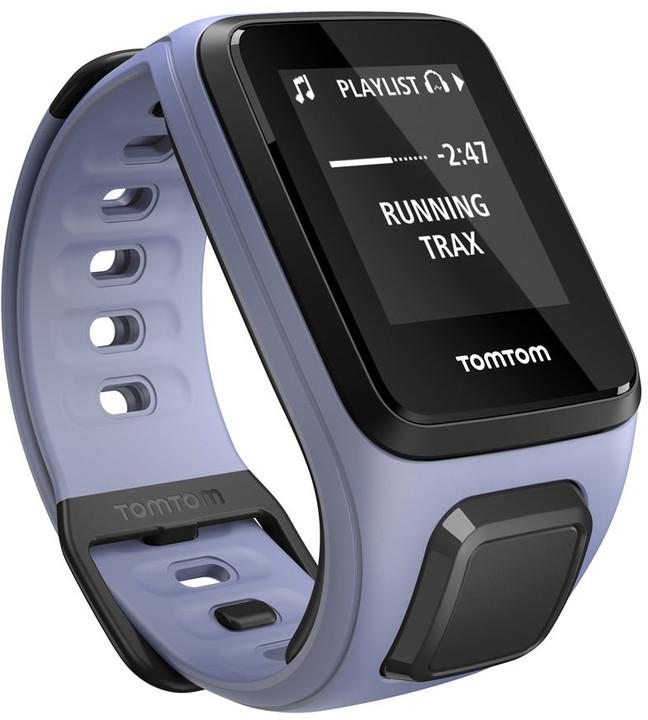 TOMTOM Spark Fitness Cardio + Music (S), fialová