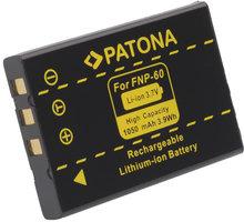Patona baterie pro Fuji NP-60 1050mAh - PT1015