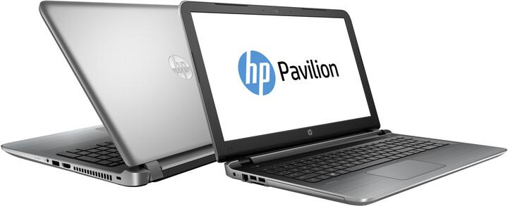 HP Pavilion 15 (15-ab032nc), stříbrná