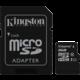 Kingston Micro SDHC 8GB Class 10 + adaptér