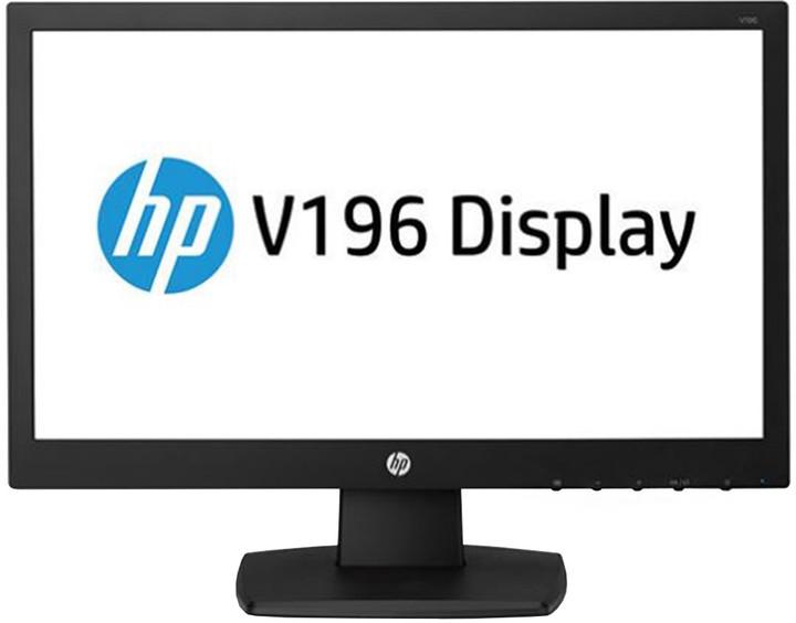 "HP V196 - LED monitor 18,5"""