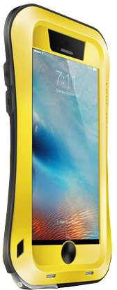 Love Mei Case iPhone 6 PLUS Three anti Straight version Yellow