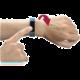 CellularLine EASYFIT Touch bluetooth fitness náramek , modro-černá