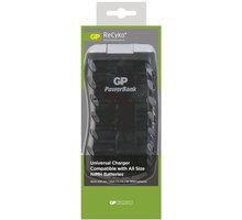 GP PB19 nabíječka AA/AAA/C/D/9V, 6-17hod, inteligentní - 1604119000
