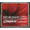 Kingston CompactFlash Ultimate 266x 32GB