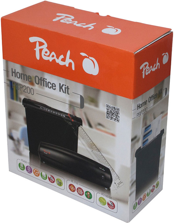 Peach Office Kit 3 v 1 (laminátor, řezačka, skartovač)