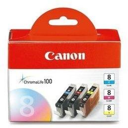 Canon CLI-8C/M/Y Pack, barevné