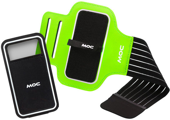 MOC Sport Armband + Slip in phone bag XL, lime