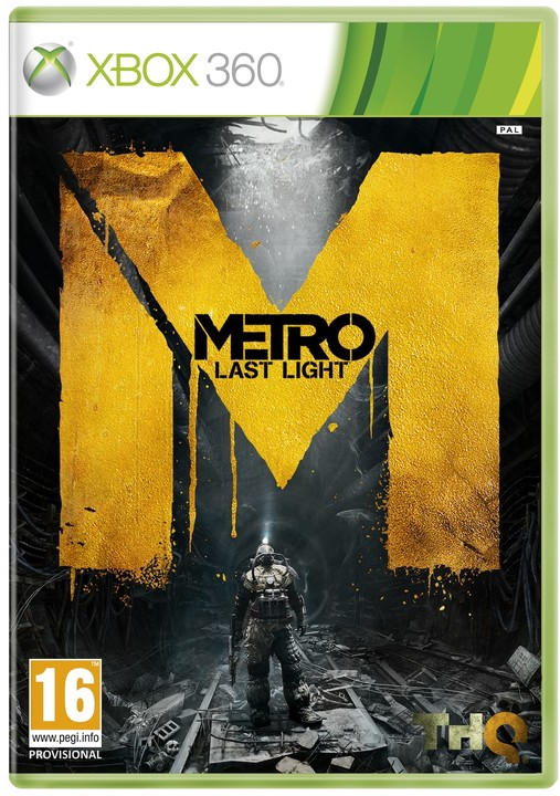 Metro: Last Light - limitovaná edice - X360