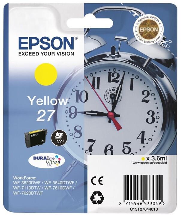 Epson C13T27044010, žlutá