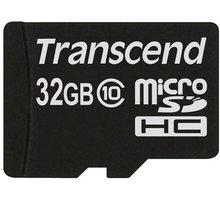 Transcend Micro SDHC 32GB Class 10 - TS32GUSDC10