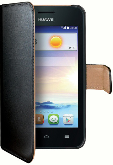 CELLY Wally pouzdro pro Huawei Ascend Y330, černá