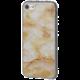 EPICO pružný plastový kryt pro iPhone 7 MARBLE - gold