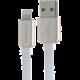 iMyMax Business Micro USB Cable, bílá/zlatá