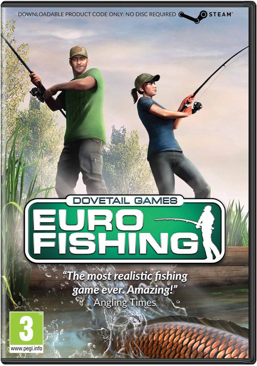 Dovetail Games Euro Fishing (PC)