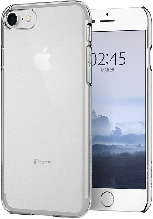 Spigen Thin Fit Crystal iPhone 8, clear