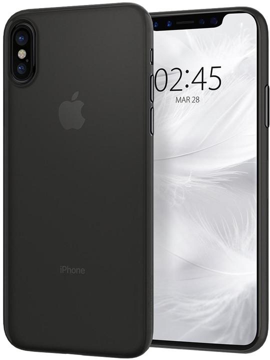 Spigen Air Skin iPhone X, black