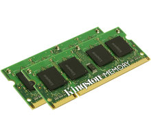 Kingston System Specific 4GB (2x2GB) DDR2 667 brand Apple SODIMM - KTA-MB667K2/4G