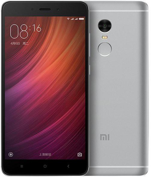 Xiaomi Redmi Note 4, CZ LTE - 64GB, šedá