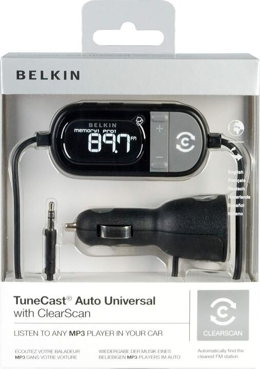 Belkin FM vysílač do auta TuneCast Auto Universal