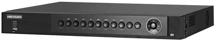 Hikvision DS-7208HUHI-F1/S2, 8+2 kamery, HD-TVI, Analog, AHD, IP